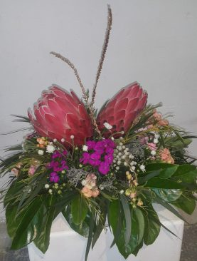 A Protea Centre Piece