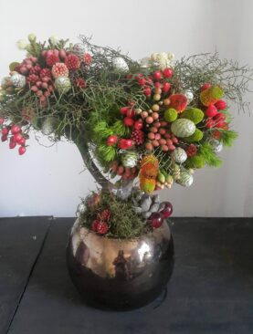 A Topiary Tree Centre Piece